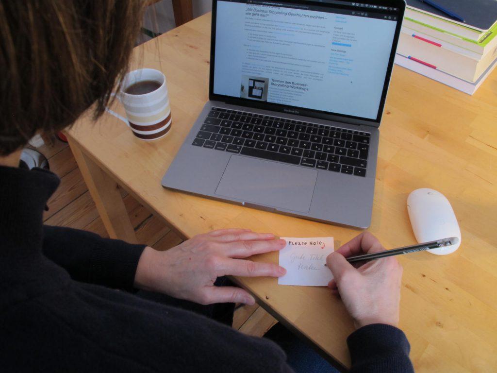 mit Schreibberatung bessere Texte schreiben